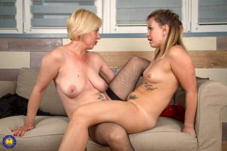 These Old And Young Lesbians Love Licking Pussy