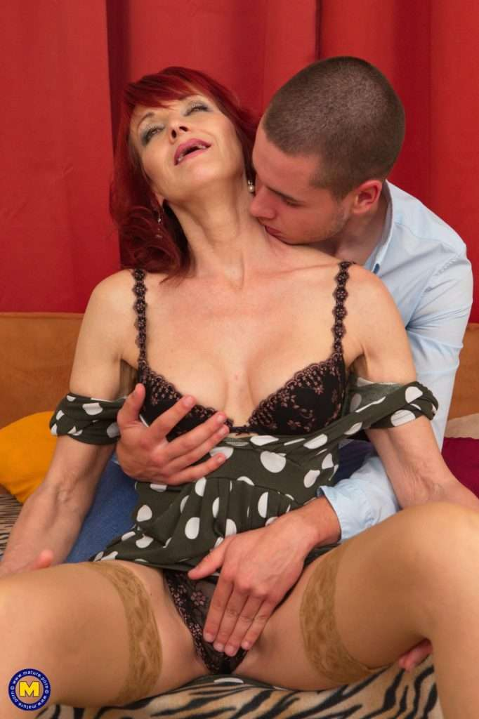 Naughty Housewife Irena Loves To Fool Around With Her Toy Boy