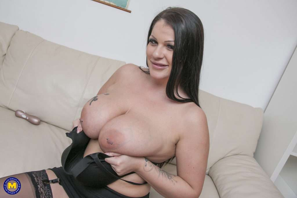 Steamy Hot Big Breasted Milf Taking On A Hard Cock At Mature.nl