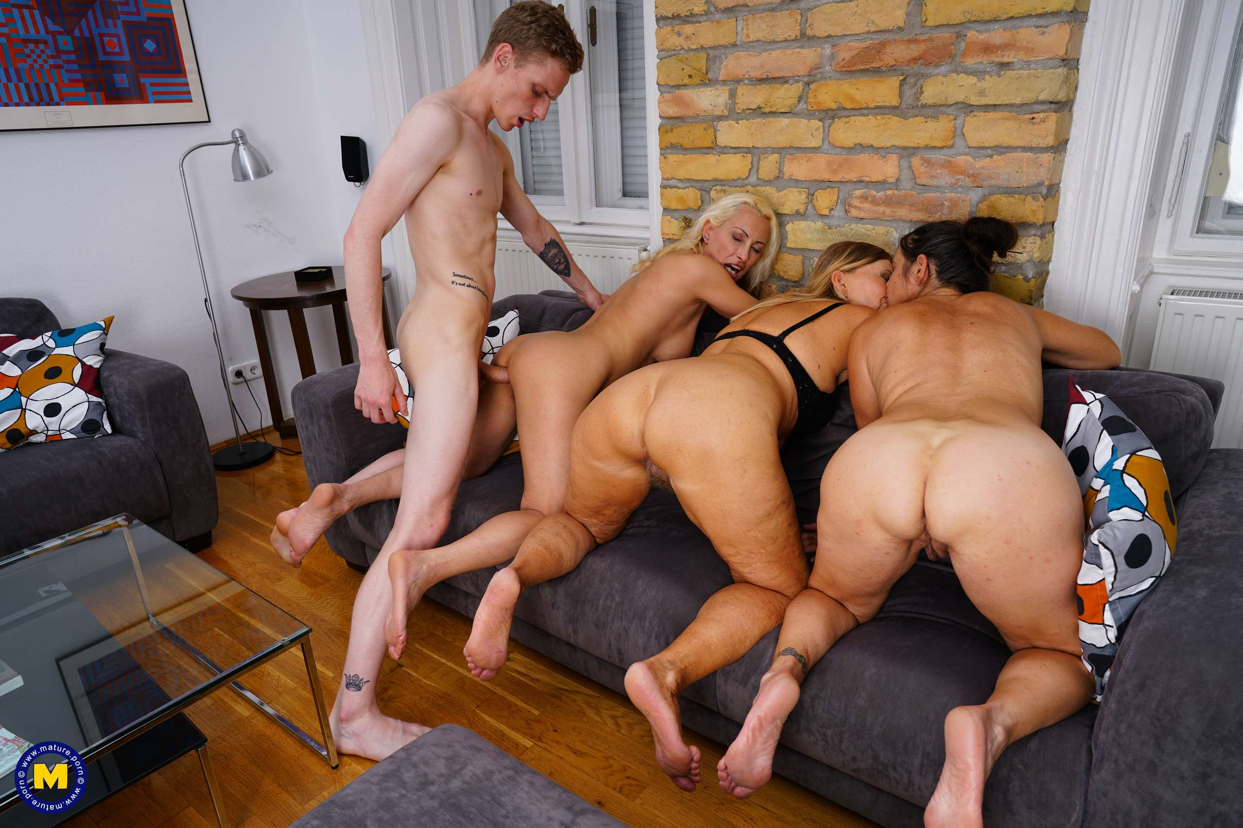 Two matures one guy porn in most relevant adult pics