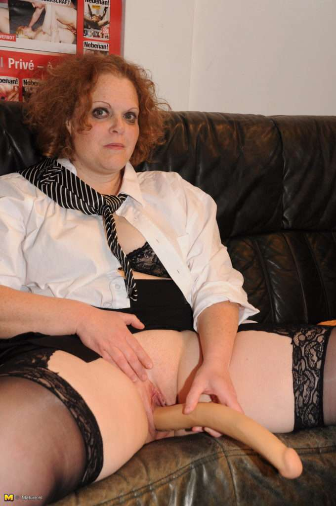 Horny German Mature Nympho Fucking And Sucking In A Gangbang At Mature.nl