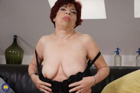 Hairy Mature Slut Playing With Herself