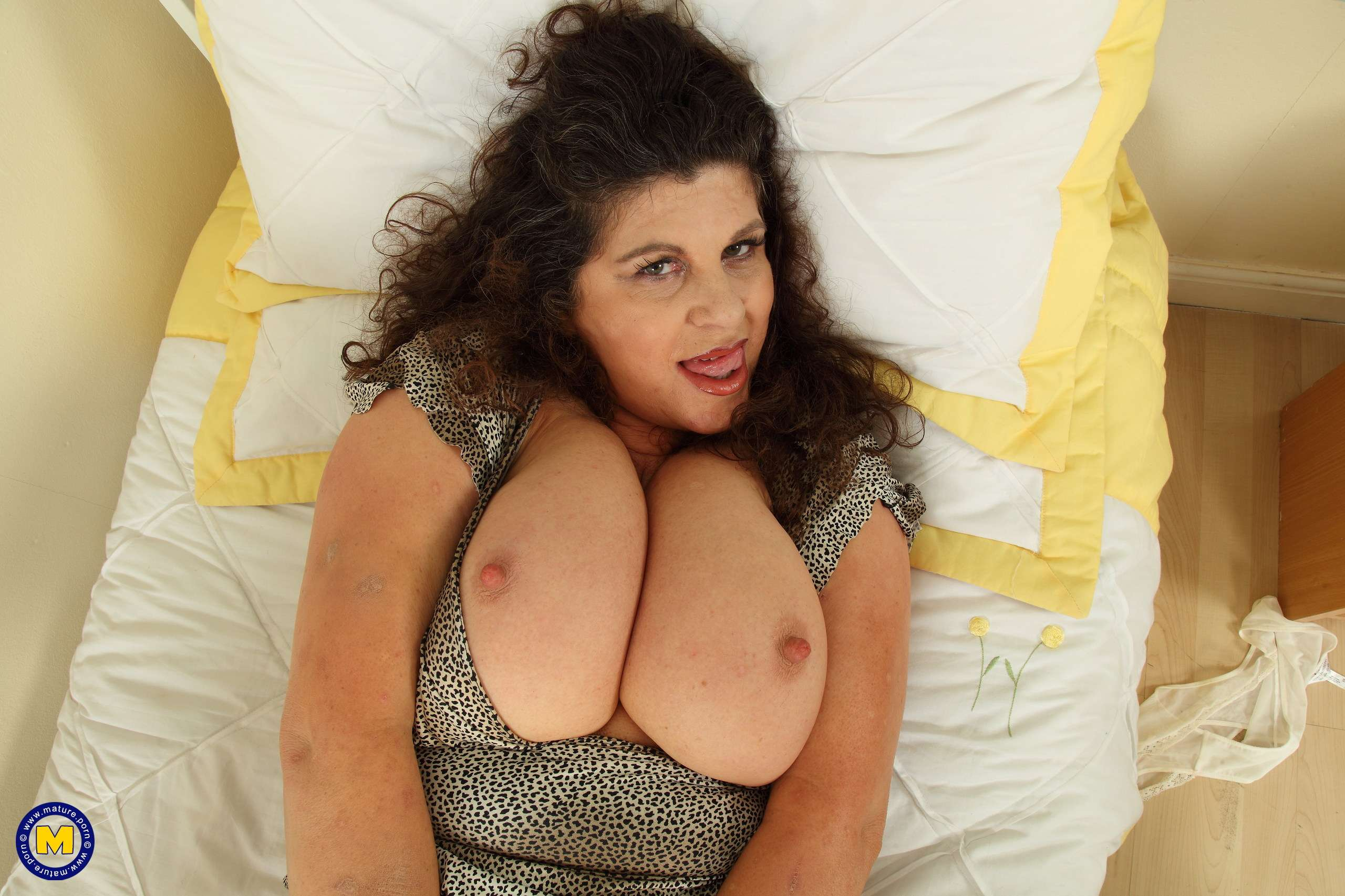 Big breasted Gilly loves to show you her dirty side