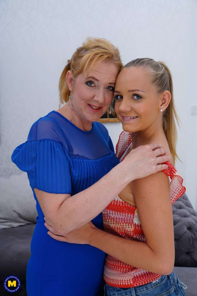 These Naughty Old And Young Lesbians Make Out And Then Some At Mature.nl