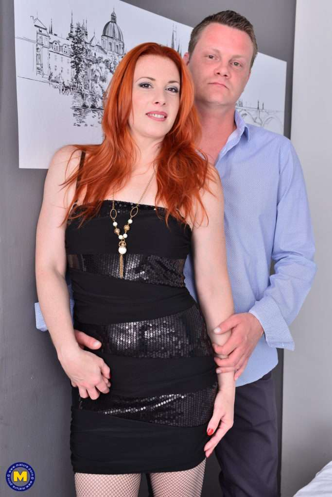 Hot Red Mom Michelle Russo Goes All The Way With Her Lover At Mature.nl