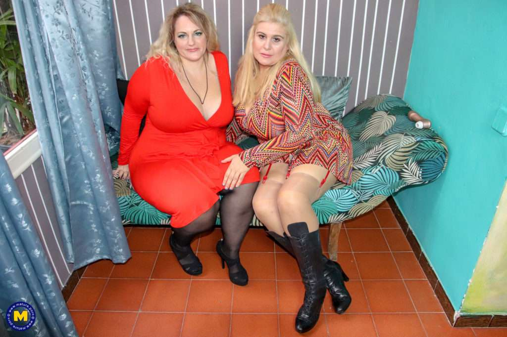These Big Breasted Mature Ladies Go Lesbian After Their Date At Mature.nl