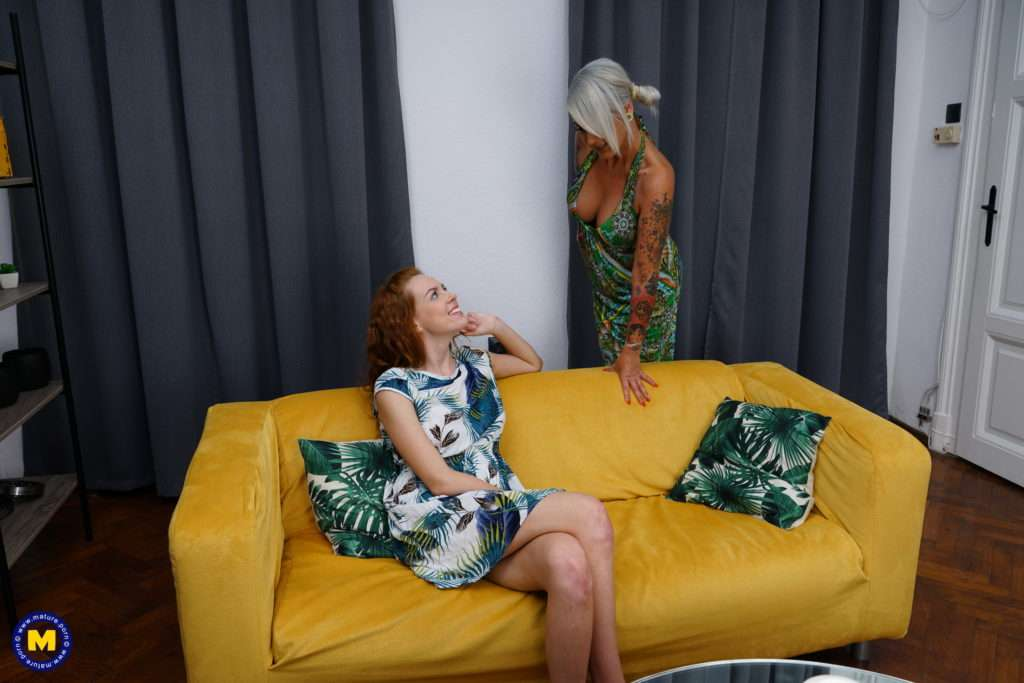 Xandra And Candy Go Further On Their Second Date At Mature.nl