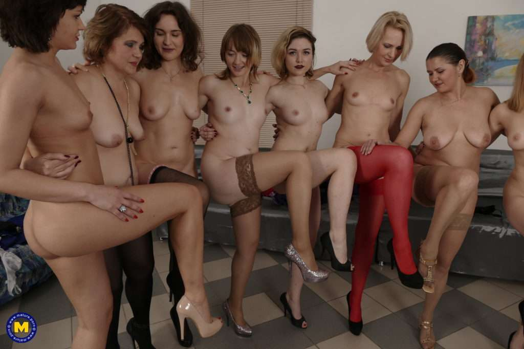This Naughty Bunch Of Women Have A Special Party Night Planned At Mature.nl
