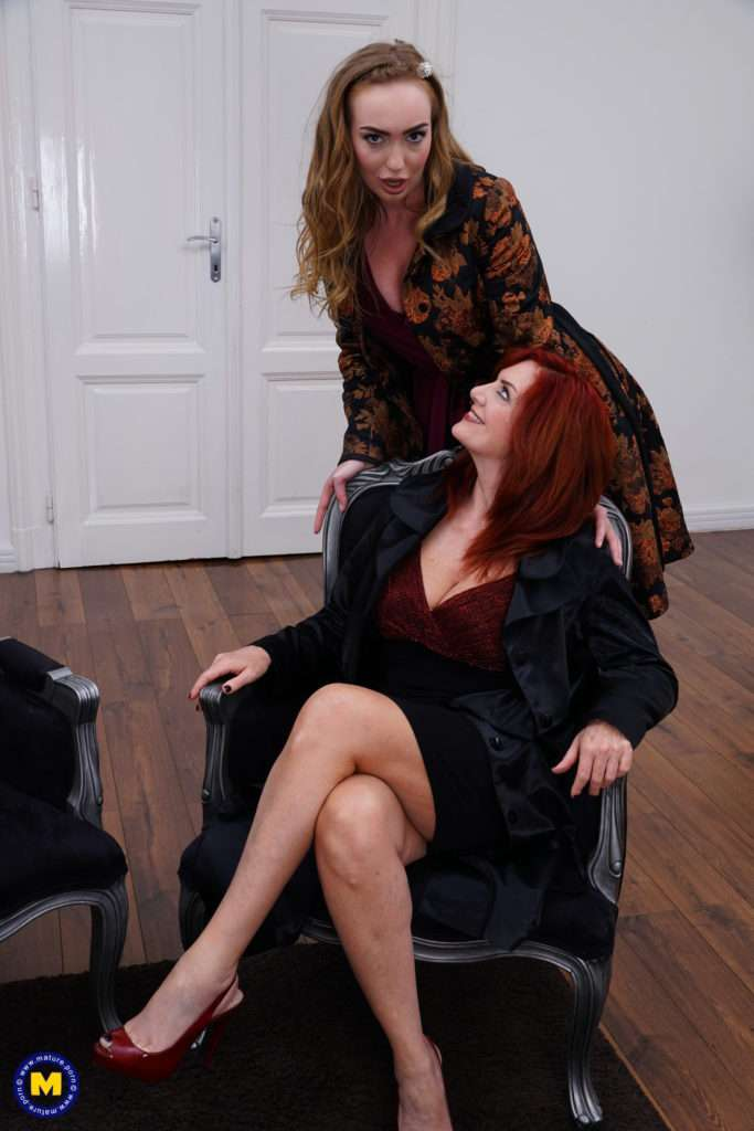 Hot Andi James Loves Scissoring With Her Lesbian Teen Girlfriend At Mature.nl
