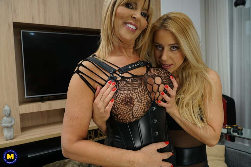 Naughty Milf Goes Full Lesbian With A Hot Mom At Mature.nl