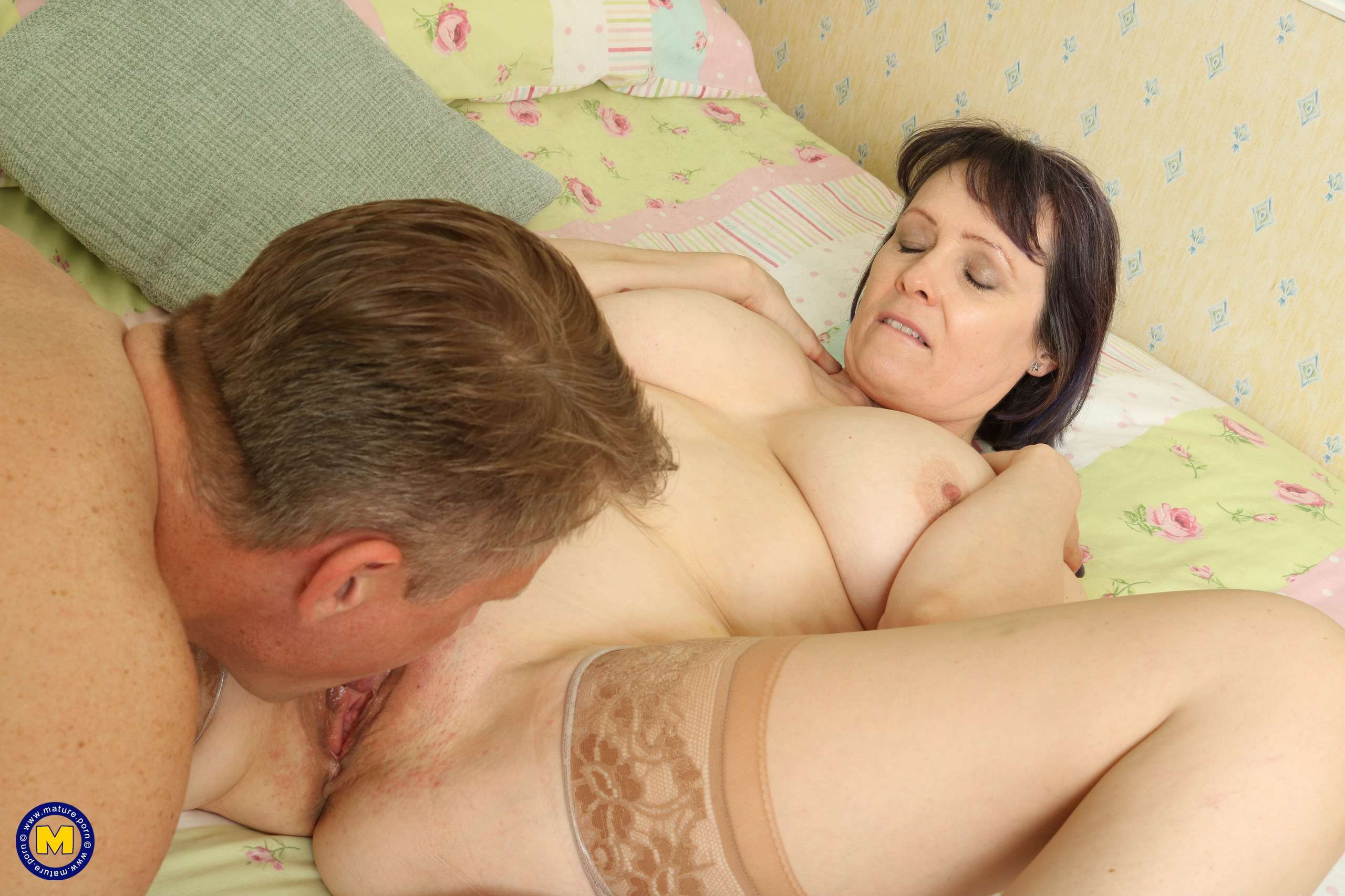 Big breasted mature Tigger loves to fool around with her man