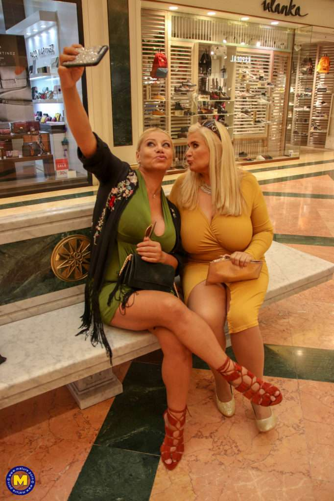 These Two Big Breasted Housewives Went Toy Shopping At Mature.nl
