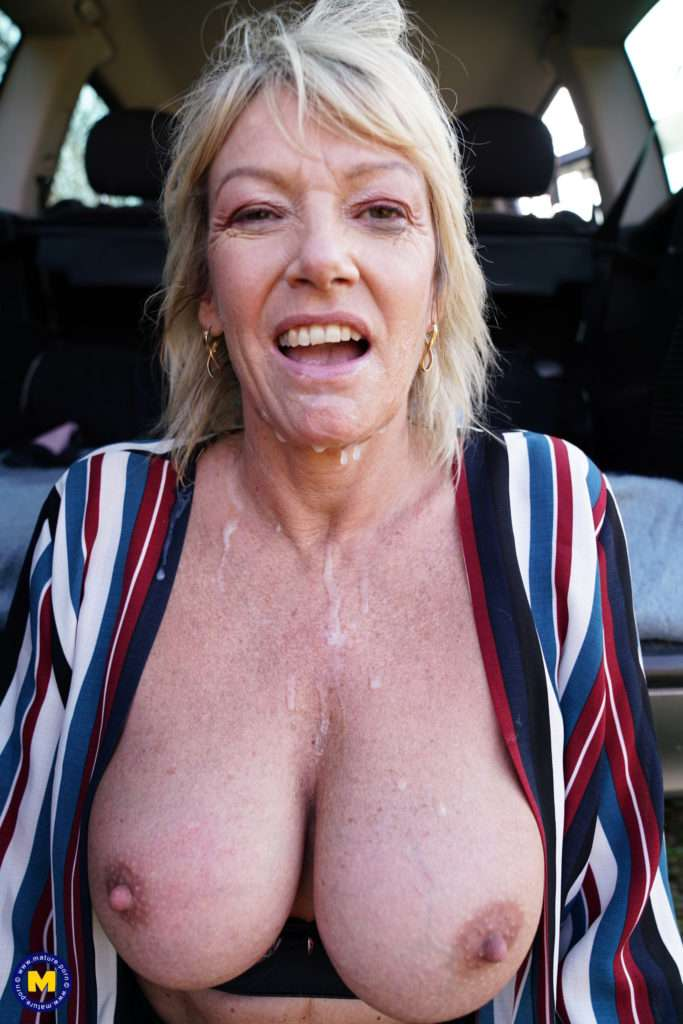 Naughty Mature Amy Takes On Four Guys At Once At Mature.nl