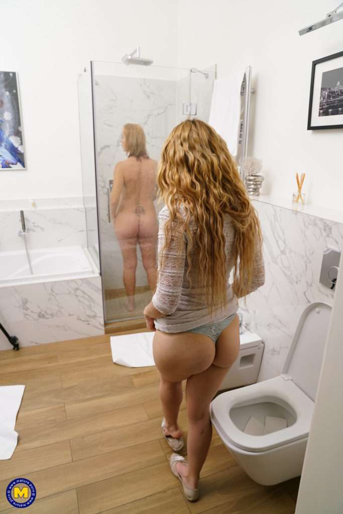 These Naughty Old And Young Lesbians Have A Shower Together And Then Some At Mature.nl