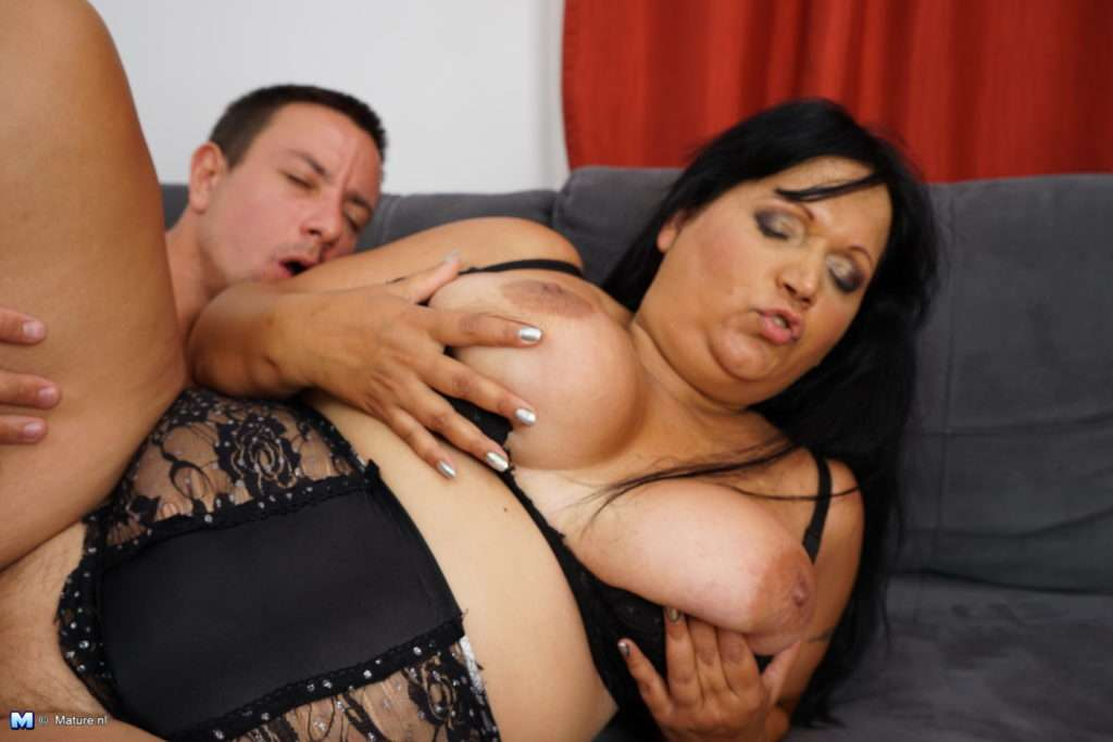 Big Breasted Curvy Mature Lady Having Fun With A Hard Cock At Mature.nl