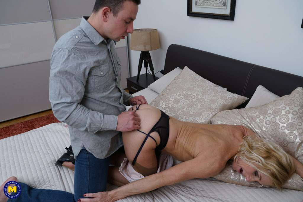 Naughty British Housewife Molly Maracas Getting Naughty With Her Lover