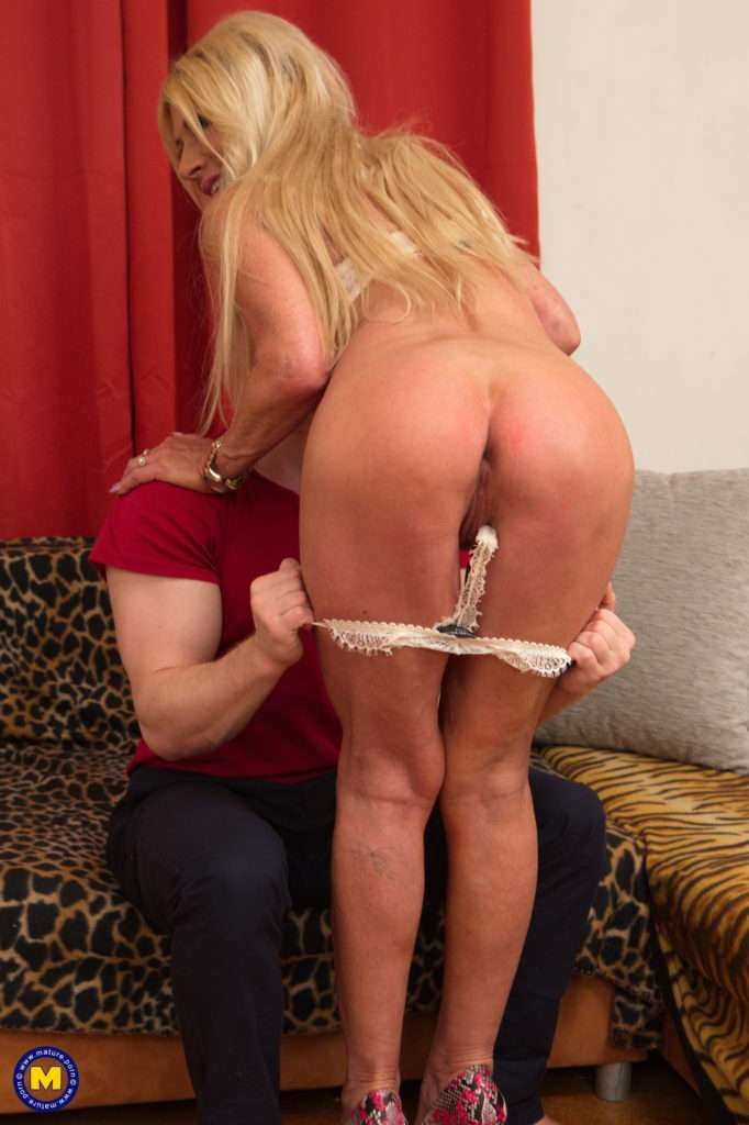 This Naughty Housewife Loves To Fool Around With Her Toy Boy