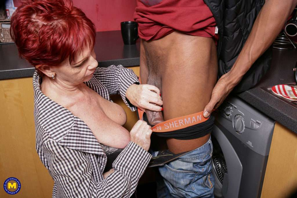 Naughty Mature Slut Getting A Black Hammer To Work With At Mature.nl
