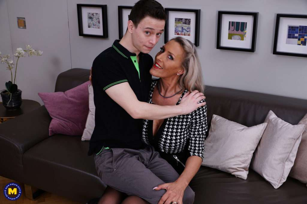 Hot German Milf Teaching A Young Innocent Boy The Ropes Of Her Dirty Mind