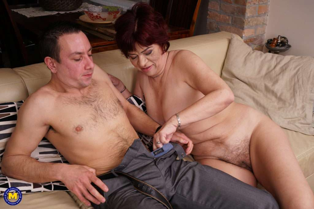 Hairy Mature Lady Getting Fucked By Her Younger Lover