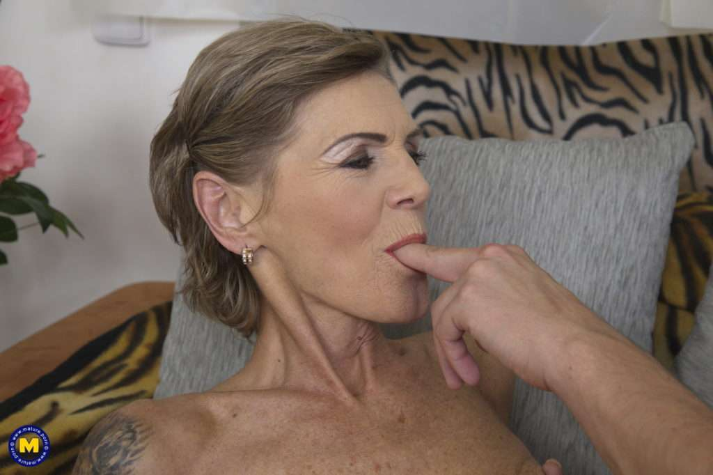 Naughty Mature Lady Having Fun With Her Toy Boy