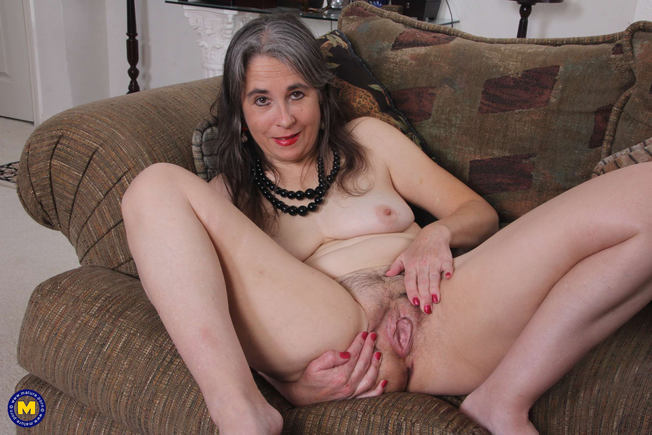 Naughty American mature lady getting wet and wild