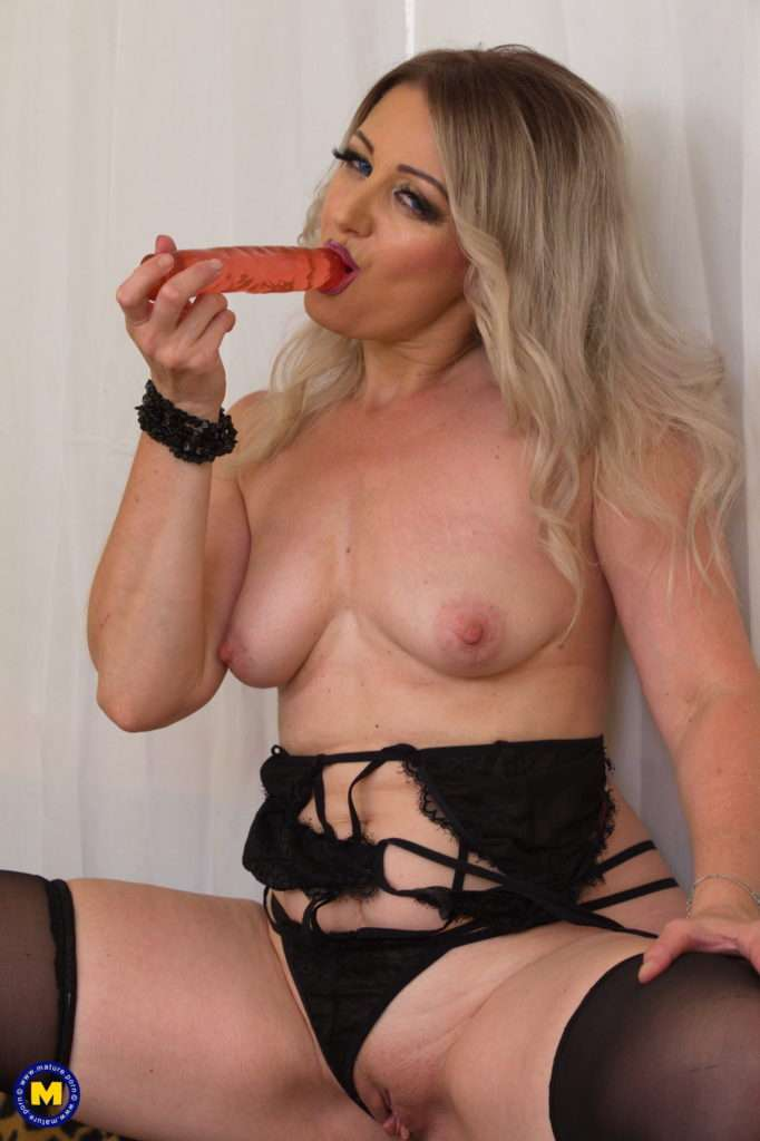 Steamy Milf Playing With Herself