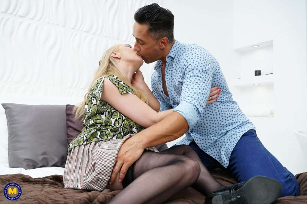 Horny British Lily May Doing Her Toy Boy