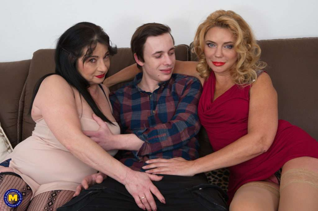 Two Horny Milfs Want A Toyboy To Join In Their Wicked Threesome