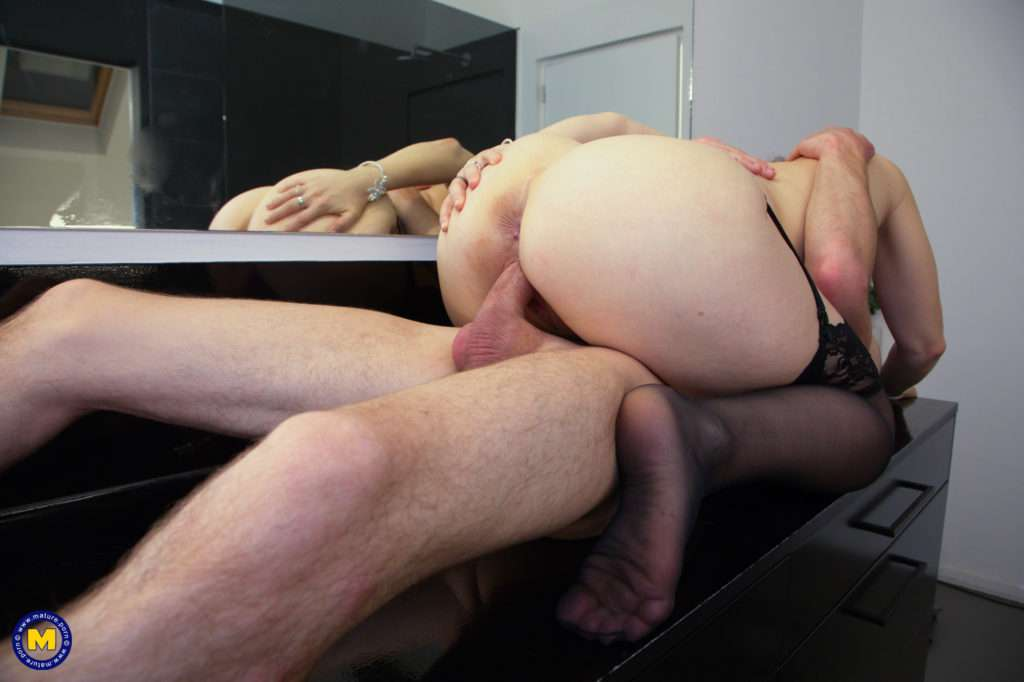 This Naughty Mom Loves To Get Fucked By Her Toyboy In The Bathroom