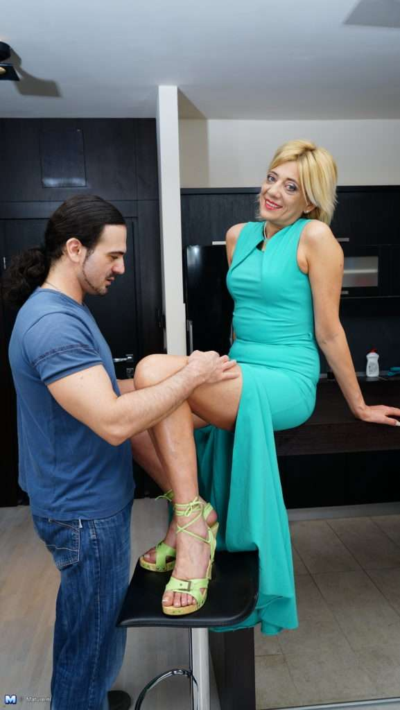 This Housewife Is In The Mood For Some Serious Attention From Her Younger Lover