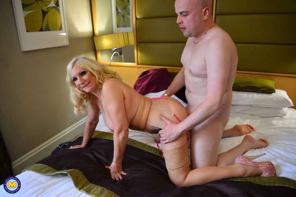 Big Breasted Mature Annabelle Loves To Suck And Fuck Her Horny Cougar Ass Off