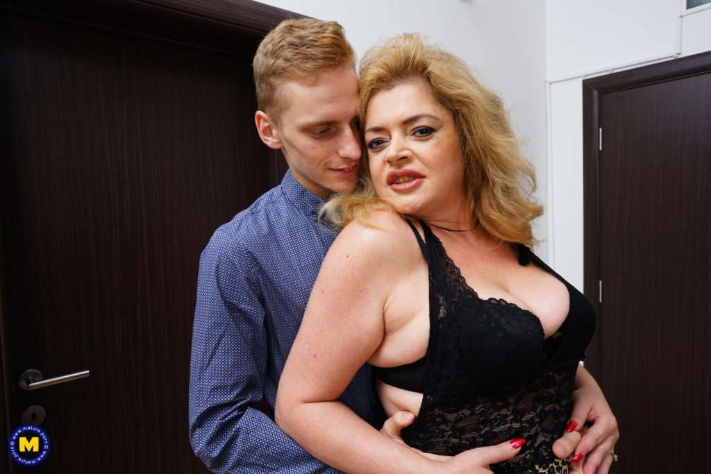 Mature Helena Jonic Loves The Cock From Her Toyboy
