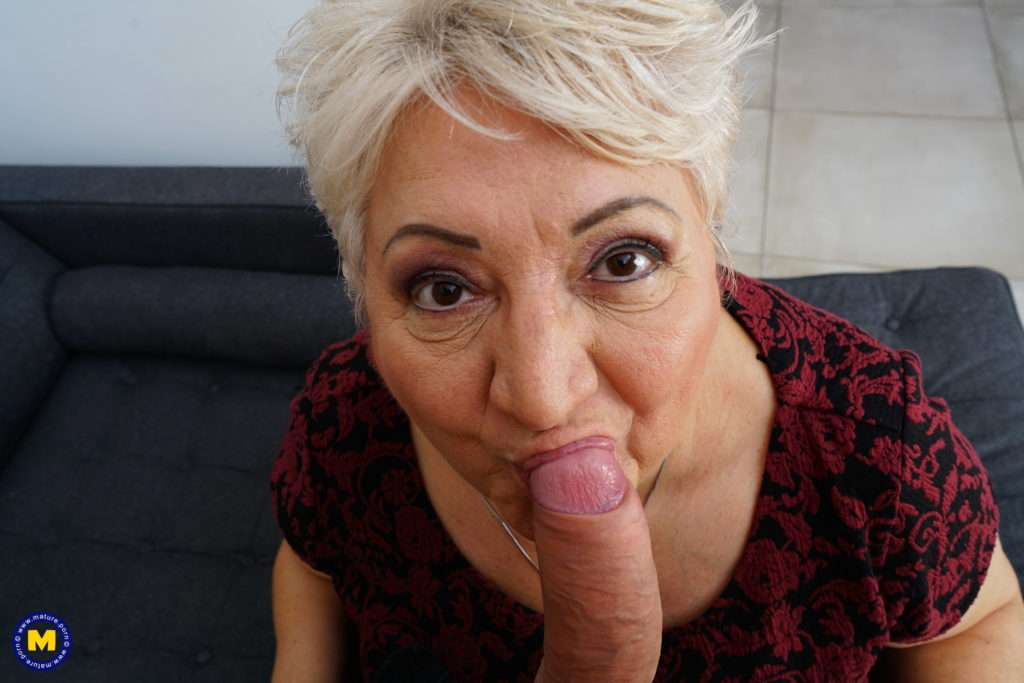Curvy Granny Loves To Get Fucked By Her Way Younger Lover