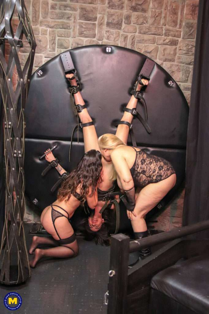 Three Old And Young Lesbians Get Kinky In The Dungeon From Mistress Musa